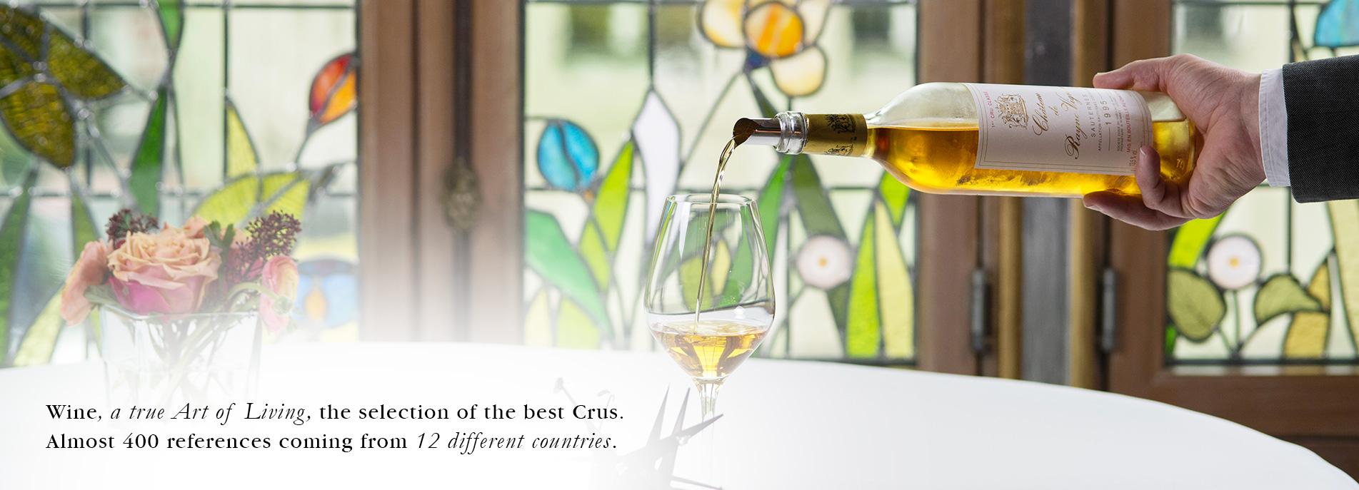 La_Cristallerie_Wine_Tasting