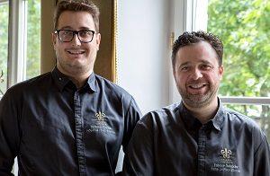 Sous-Chef Mathieu Morvan & Chef Fabrice Salvador