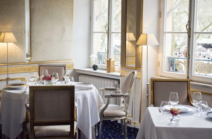 Salle du Restaurant La Cristallerie